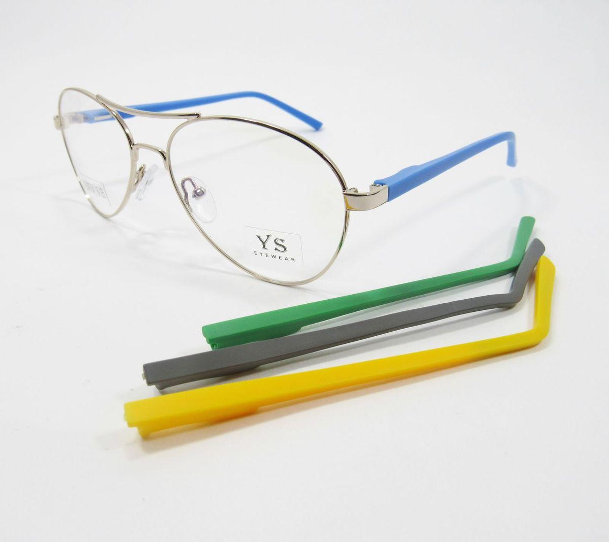 cb15d87d1 Armação para Óculos de Grau Aviador Troca Hastes (dourado) | Óculos ...