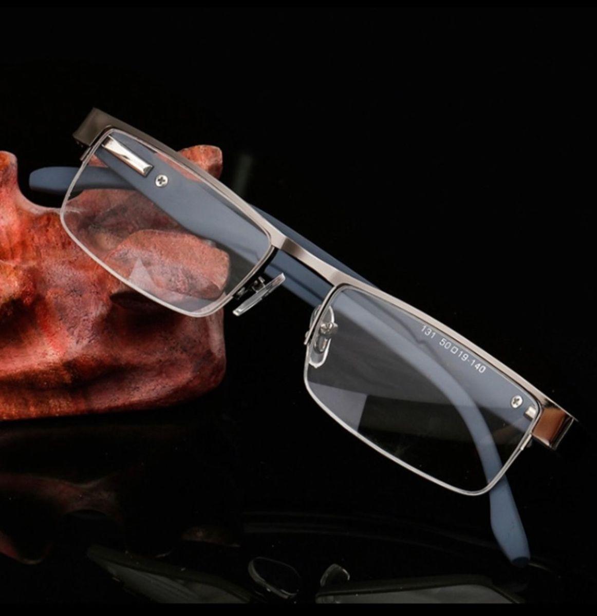 503451e0ce9bd Armação para Óculos de Grau Cinza Flexível   Óculos Feminino ...
