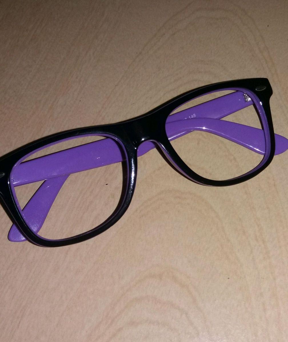 ab26a5fcef297 armação para óculos de grau e descanso - óculos sem marca