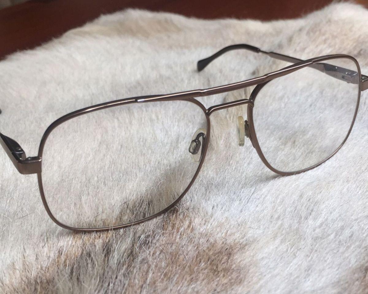 daabf8b0e armação para óculos de grau luxóttica - óculos carlos brownstone luxottica