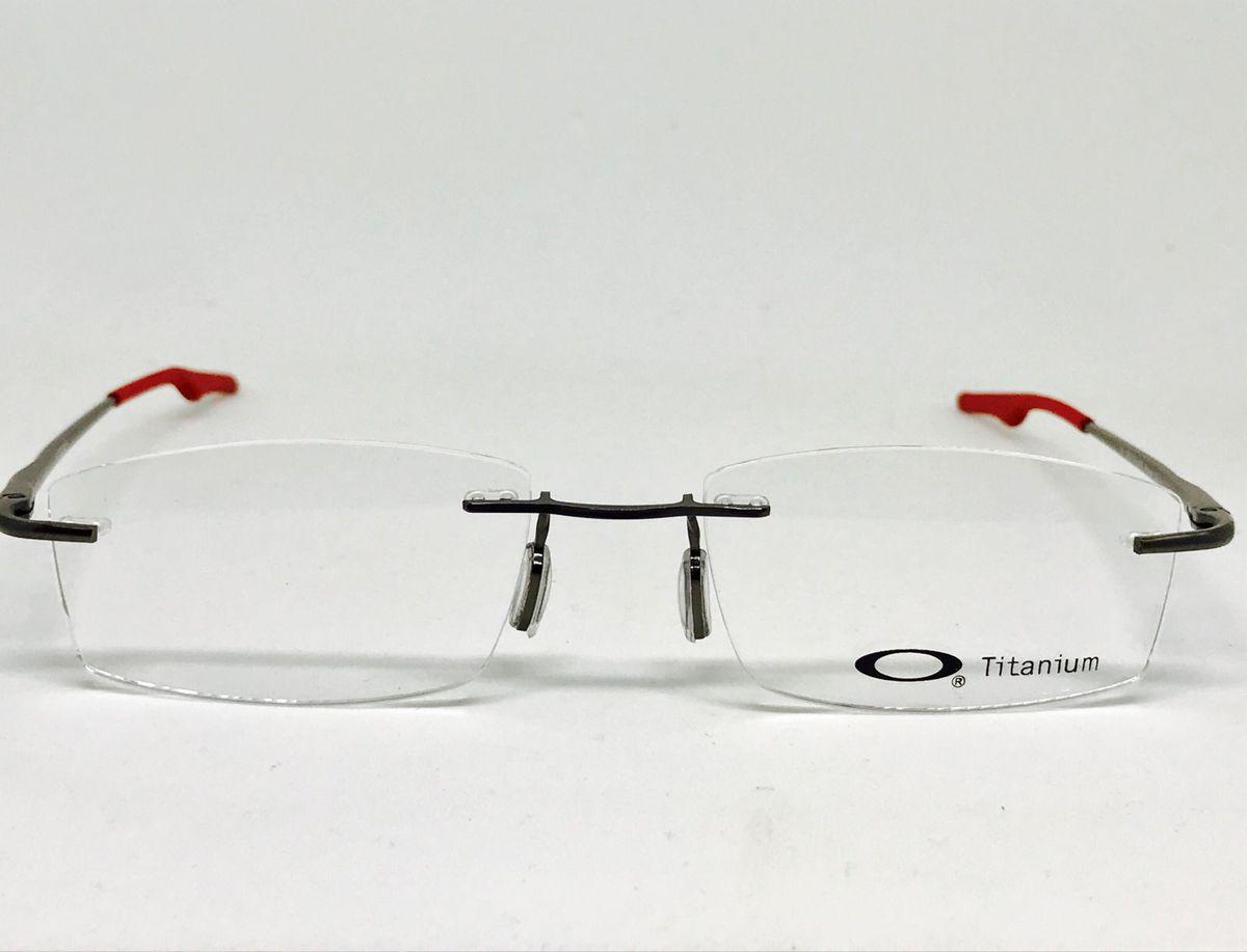 357bec7366788 Armacao para Óculos de Grau Oakley   Óculos Masculino Oakley Nunca ...