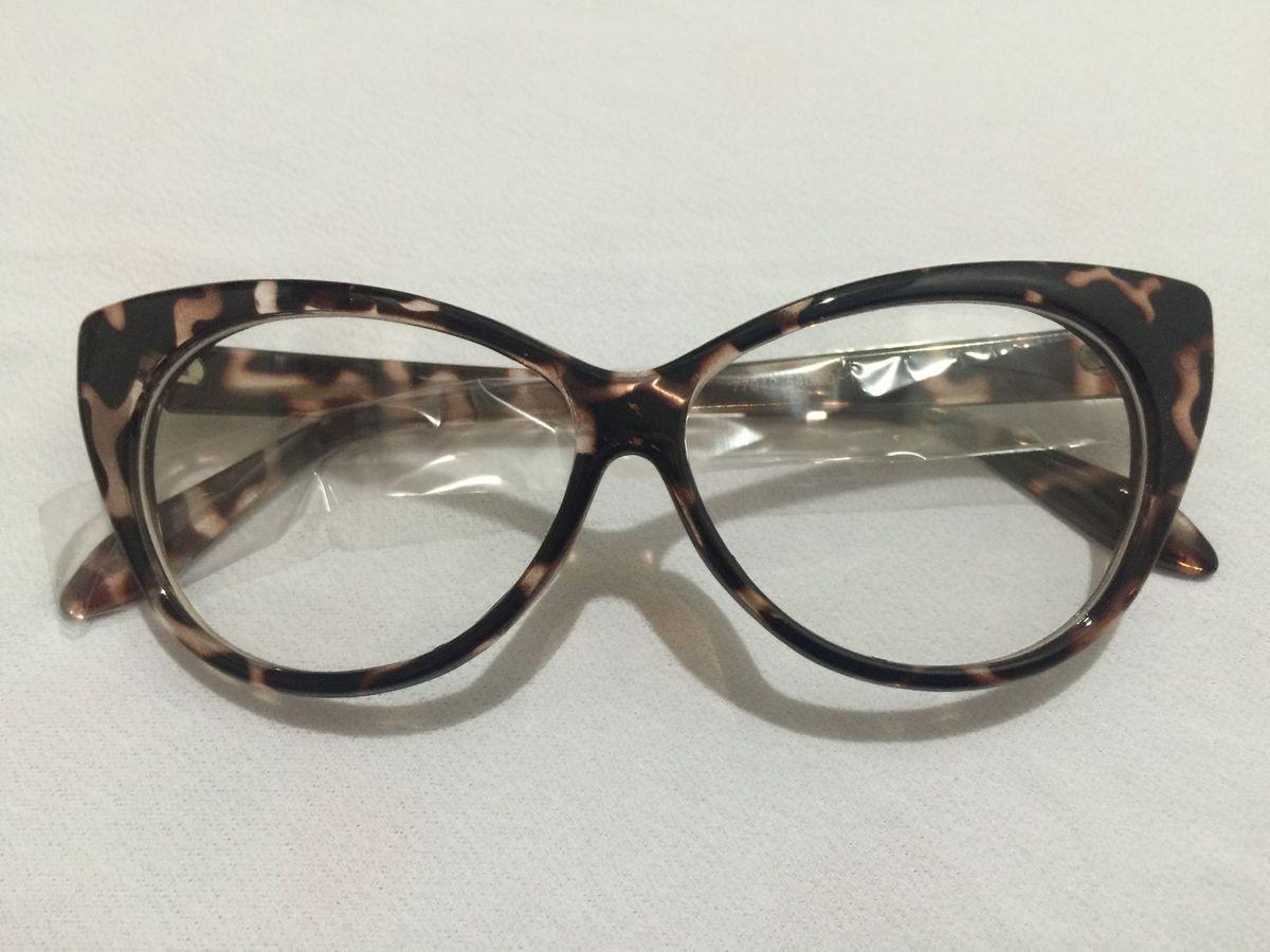 b6ce3312bd33a armação para óculos de grau retrô - óculos importado