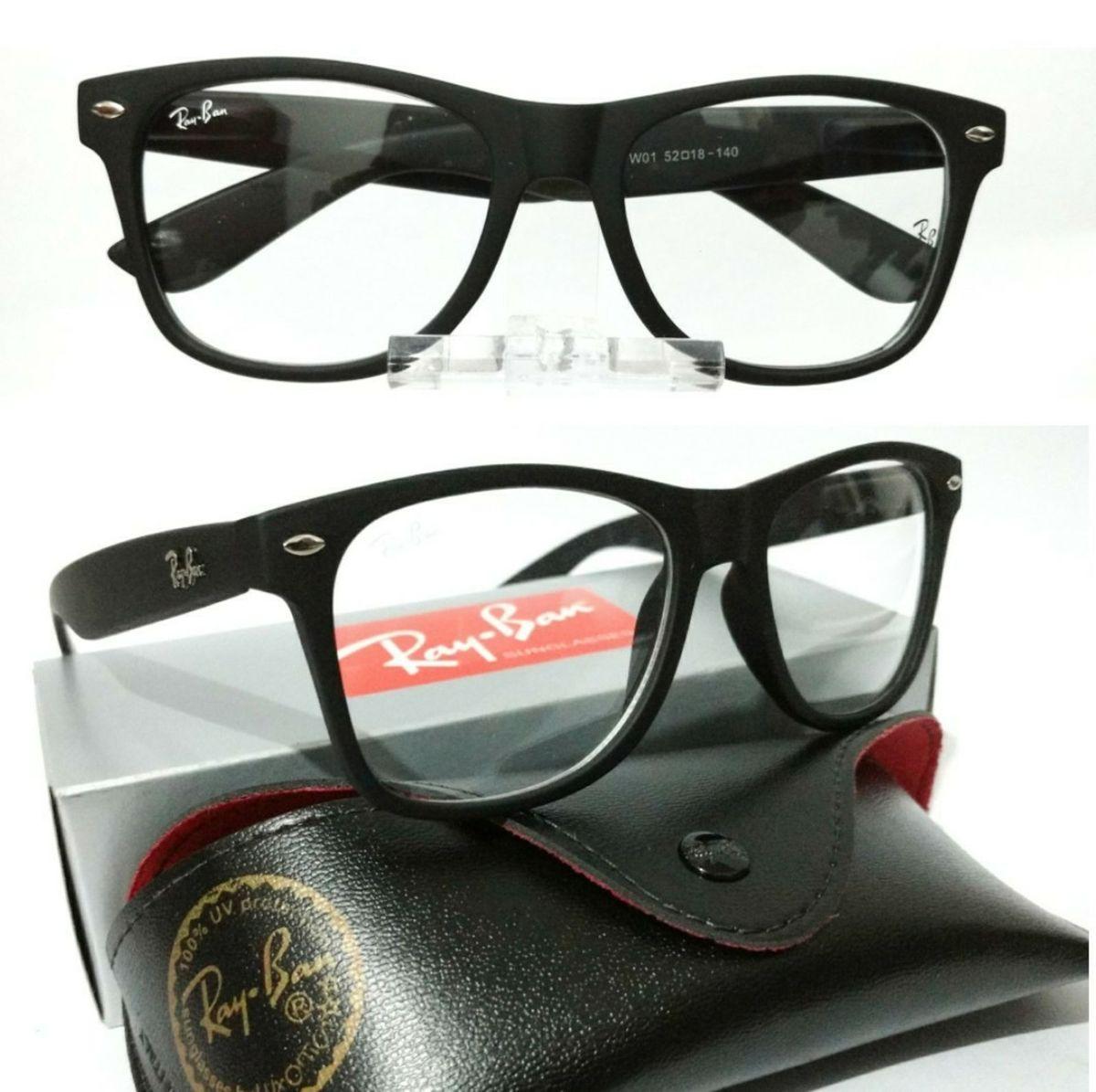 ... para óculos de grau wayfarer fosco quadrado masculino e feminino -  óculos sem-marca  Óculos De Sol Redondo Haste Mola Vintage Gotico Retro  Lennon ... ab4d466f5c