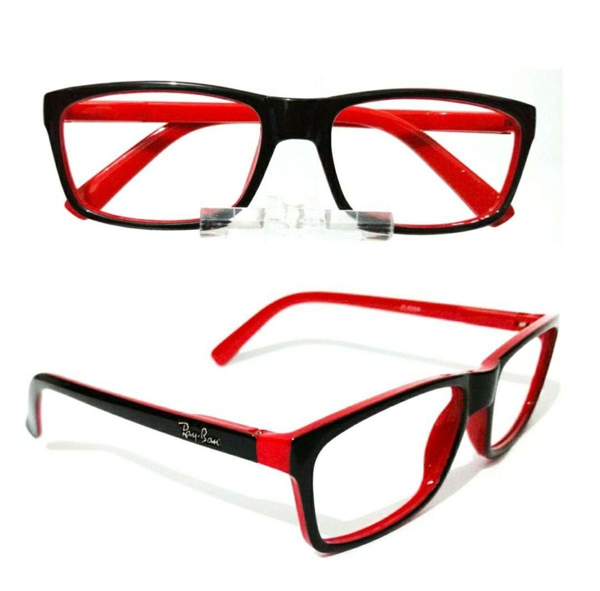 a2ead67e7 armação para óculos grau ray ban wayfarer feminino e masculino - óculos rb