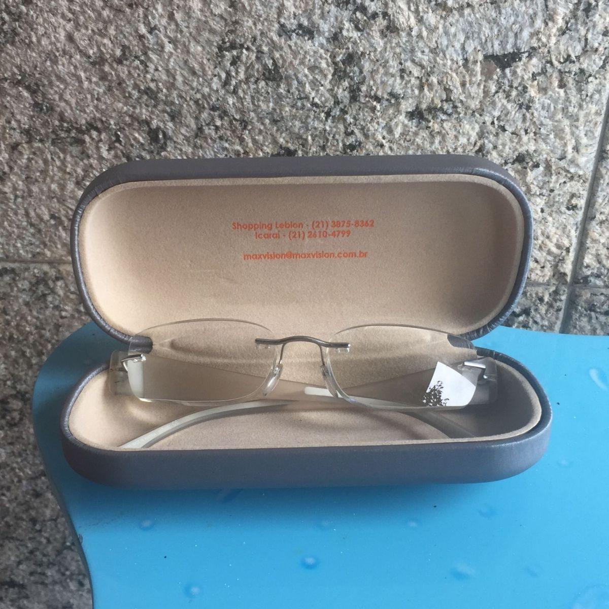 fc93166e32dbe Armação sem Aro Silhouette Óculos com Grau