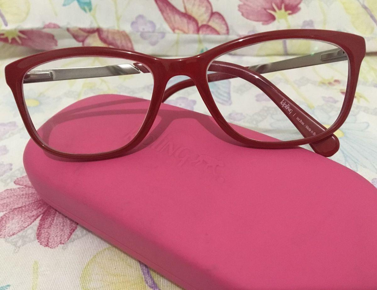 f2c4c4a55e2d3 armação vermelha - óculos kipling.  Czm6ly9wag90b3muzw5qb2vplmnvbs5ici9wcm9kdwn0cy81ndkwnzc3l2u5ztyxzja4owvlyjbkmwu4mgiyzte3zme5ymi2ogi0lmpwzw  ...