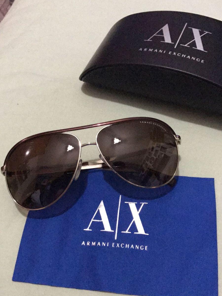 0ccb1efff8f2d Armani Exchange - Aviator   Óculos Masculino Armani Exchange Usado ...