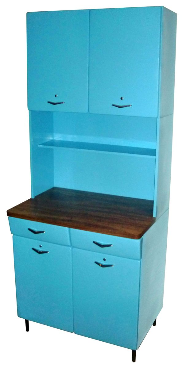 Image of: Armario De Cozinha Azul Securit Hard Decor Movel De Antiquario Securit Hard Decor Nunca Usado 820875 Enjoei