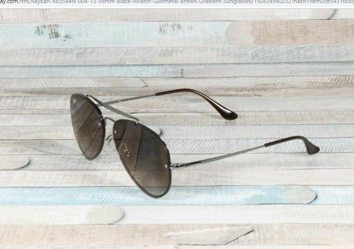 7af4f1899 Aviador Blaze | Óculos Feminino Ray Ban Nunca Usado 33555918 | enjoei