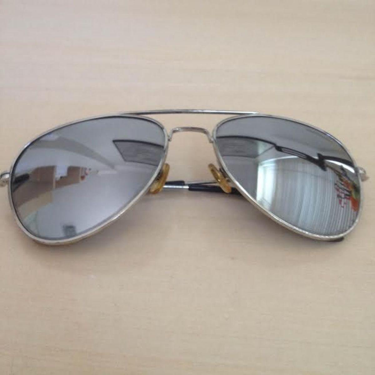 Aviador Espelhado Chilli Beans   Óculos Feminino Chilli Beans Usado ... 8585a987d9