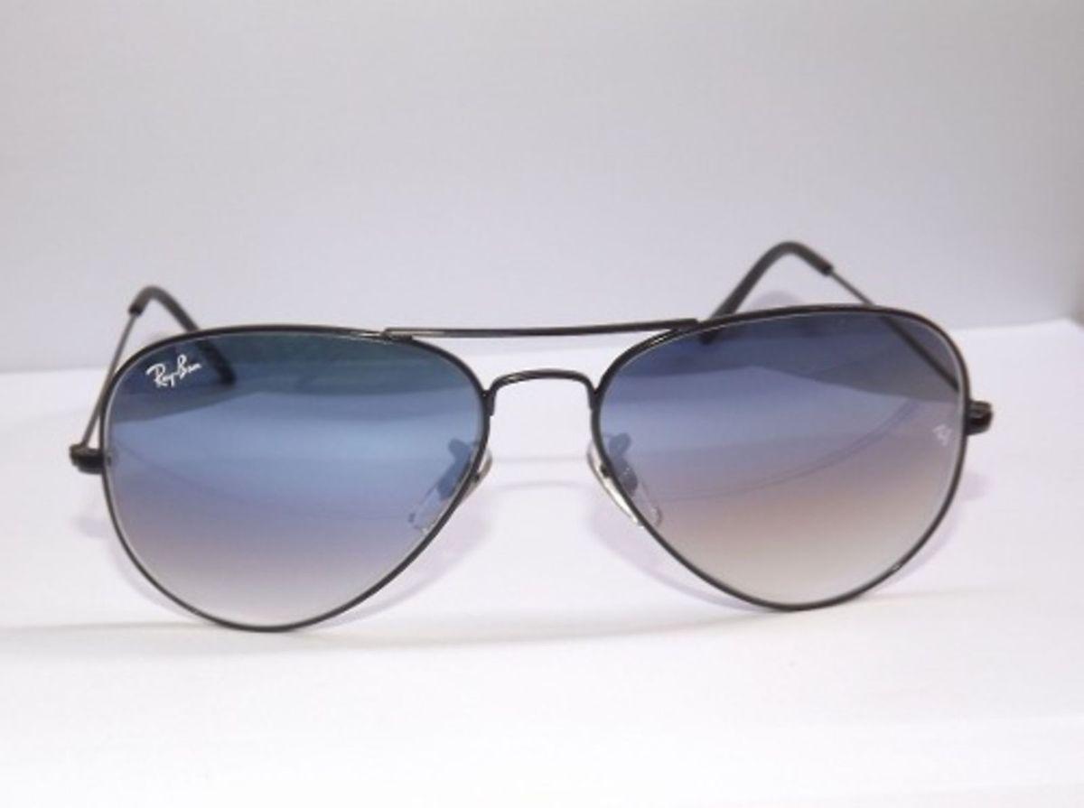 fb05747993d17 Aviador Preto Fume Degrade   Óculos Masculino Ray Ban Nunca Usado 14654830    enjoei
