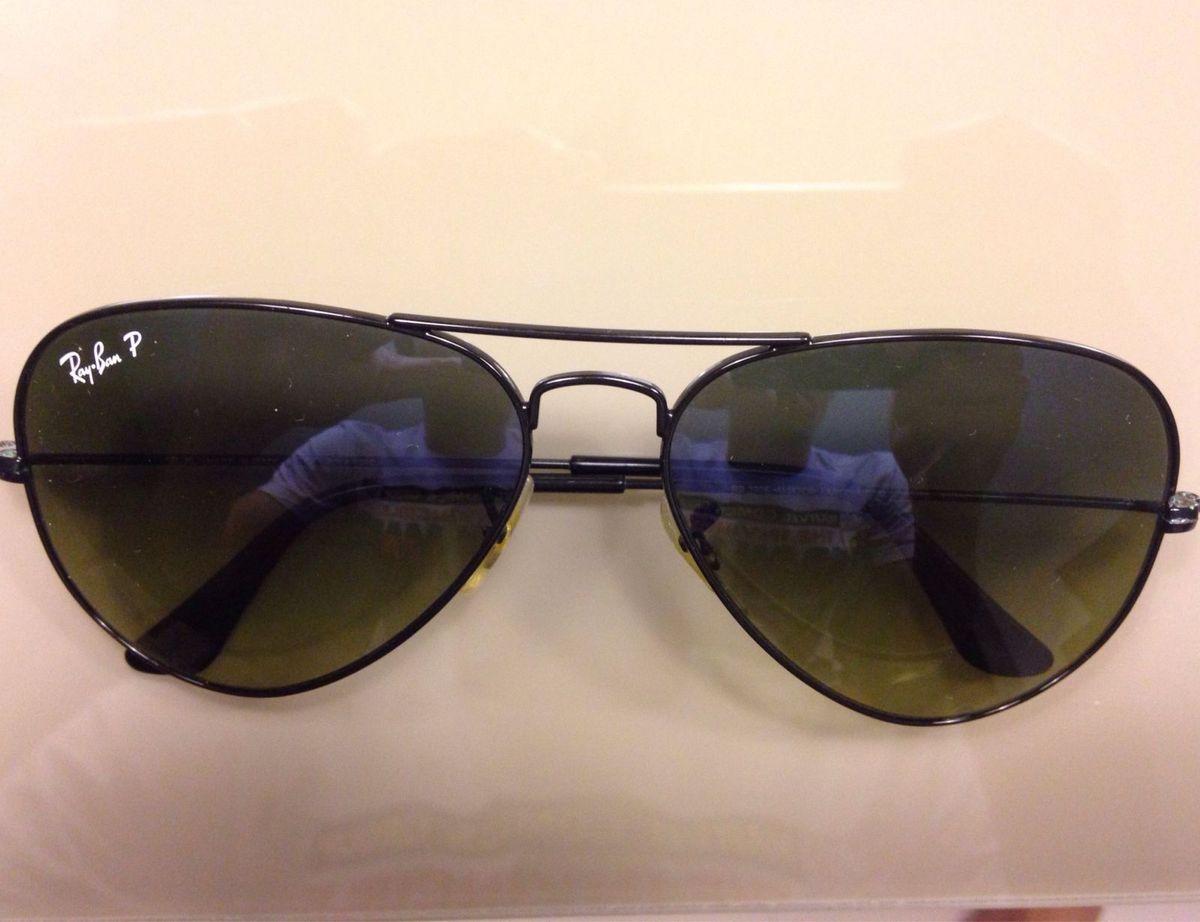 7dda3a45b Aviador Rayban com Lente Polarizada | Óculos Masculino Ray Ban Usado ...