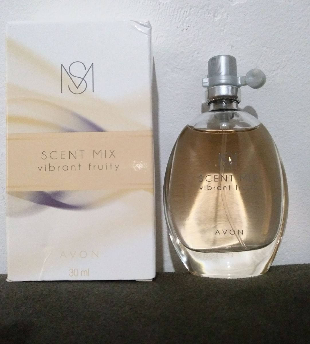 Avon Scent Mix Vibrant Fruit 30ml Perfume Feminino Avon Usado 35894492 Enjoei
