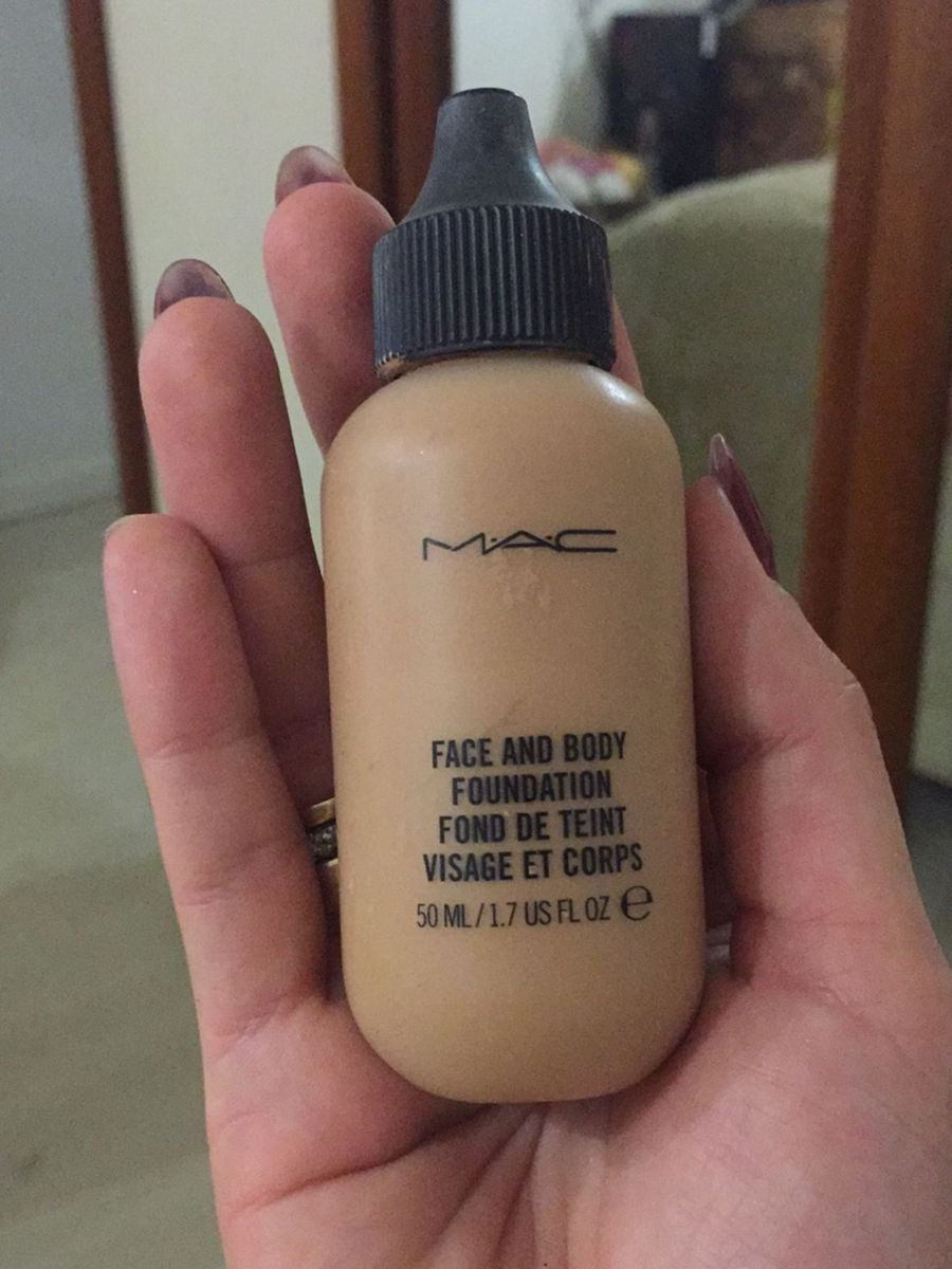 Base Mac Face And Body Foundation Maquiagem Feminina Mac Usado 24425642 Enjoei