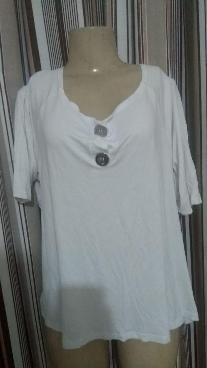 batinha branca - blusas sem marca