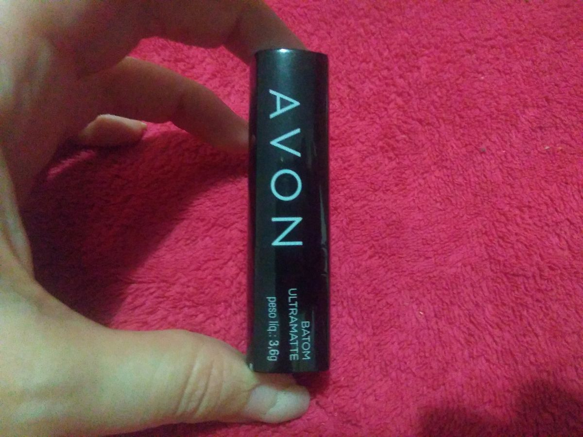 Lágrimas de Glitter: Avon Batom Ultra Color Rich Cor