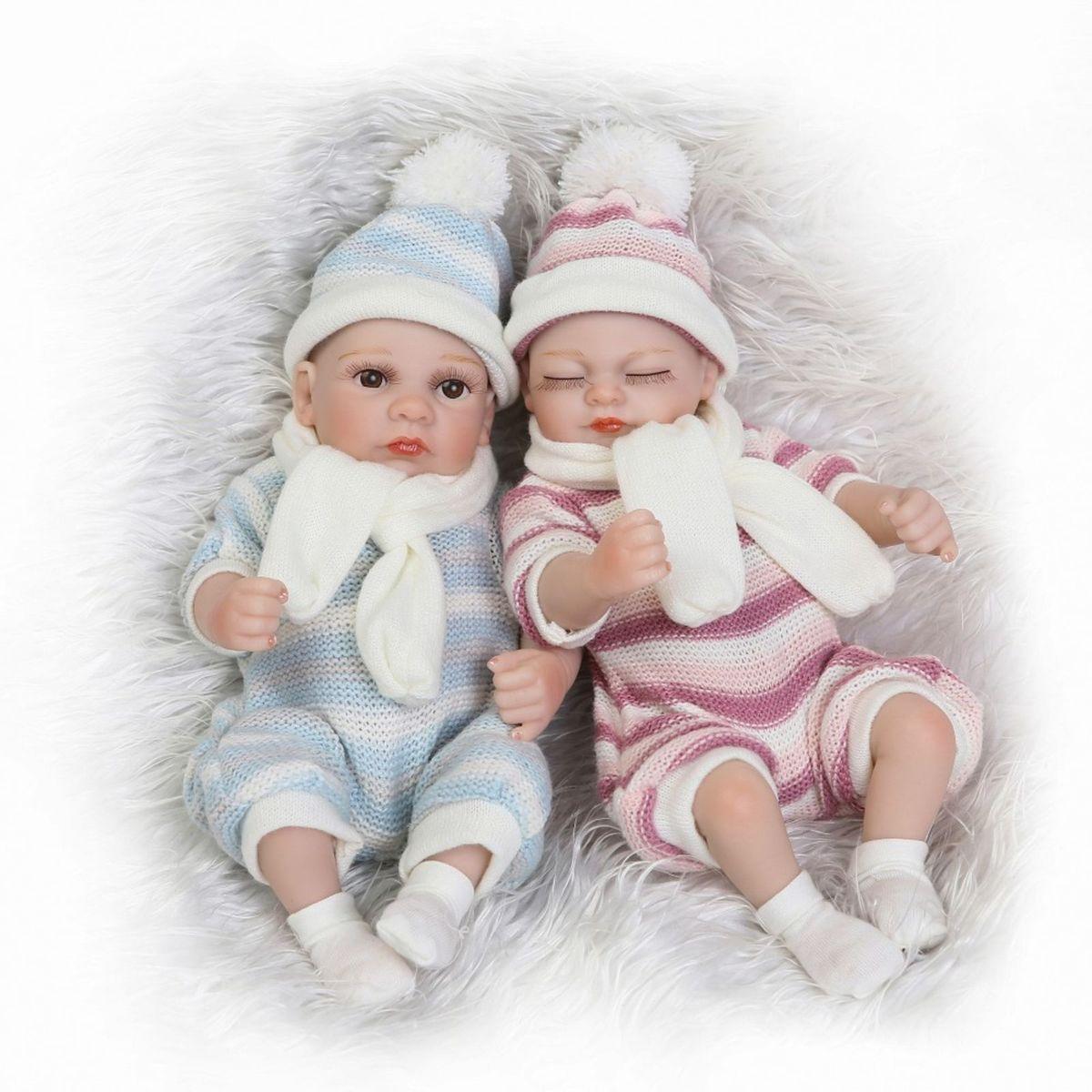 bebê reborn menino menina likelife silicone realista - crescidinhos npk  collection f1467ec993d