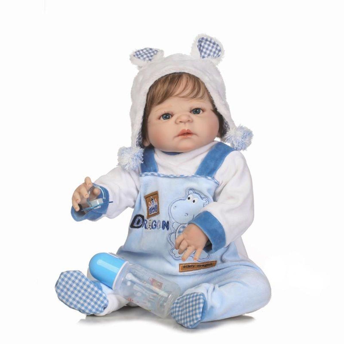 Bebe Reborn Menino Pronta Entrega + Brinde   Brinquedo Baby Reborn ... f392122a640