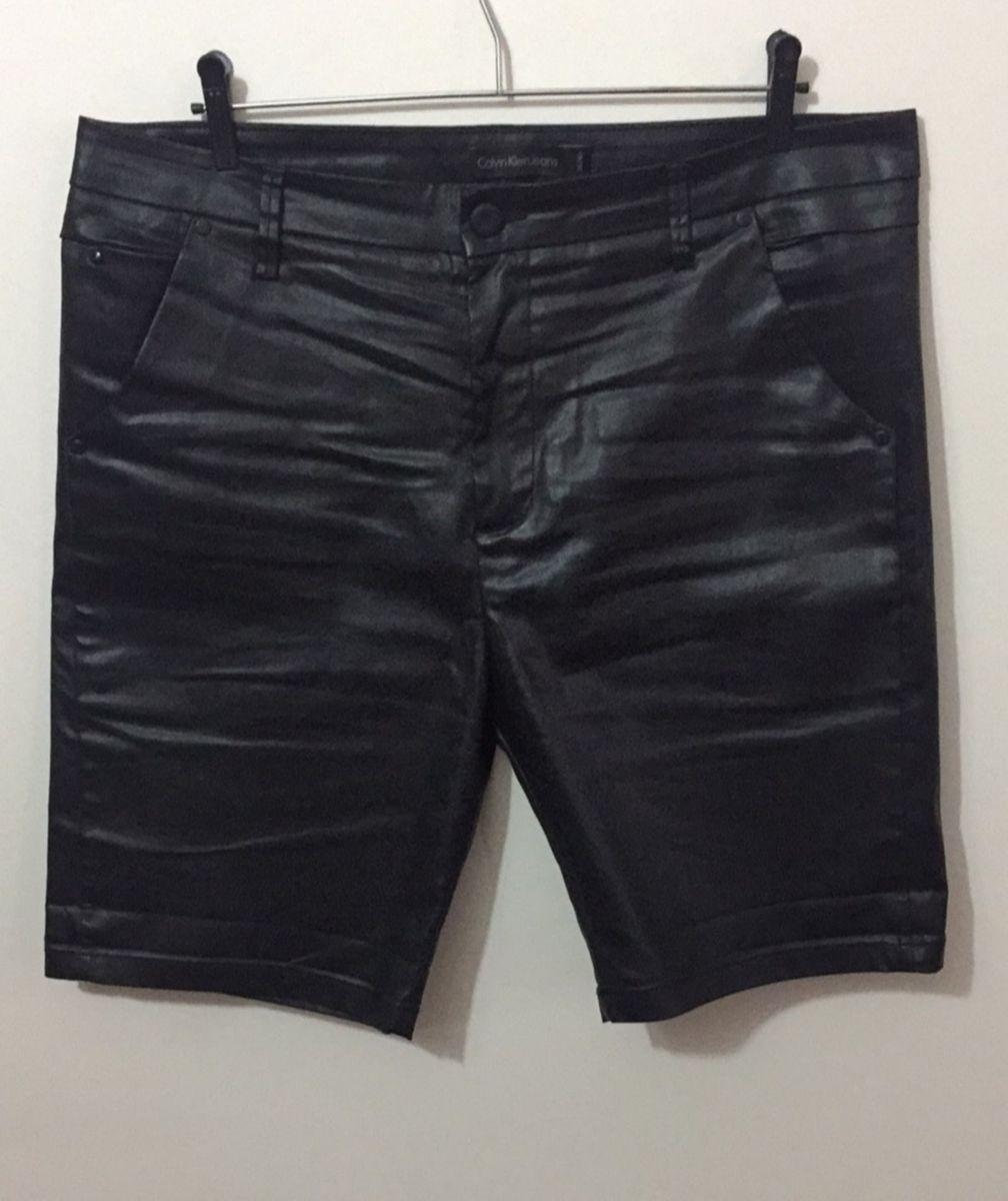 calvin klein jeans bermuda masculina color detalhe fita - preto - bermudas calvin  klein 35a8537bcf