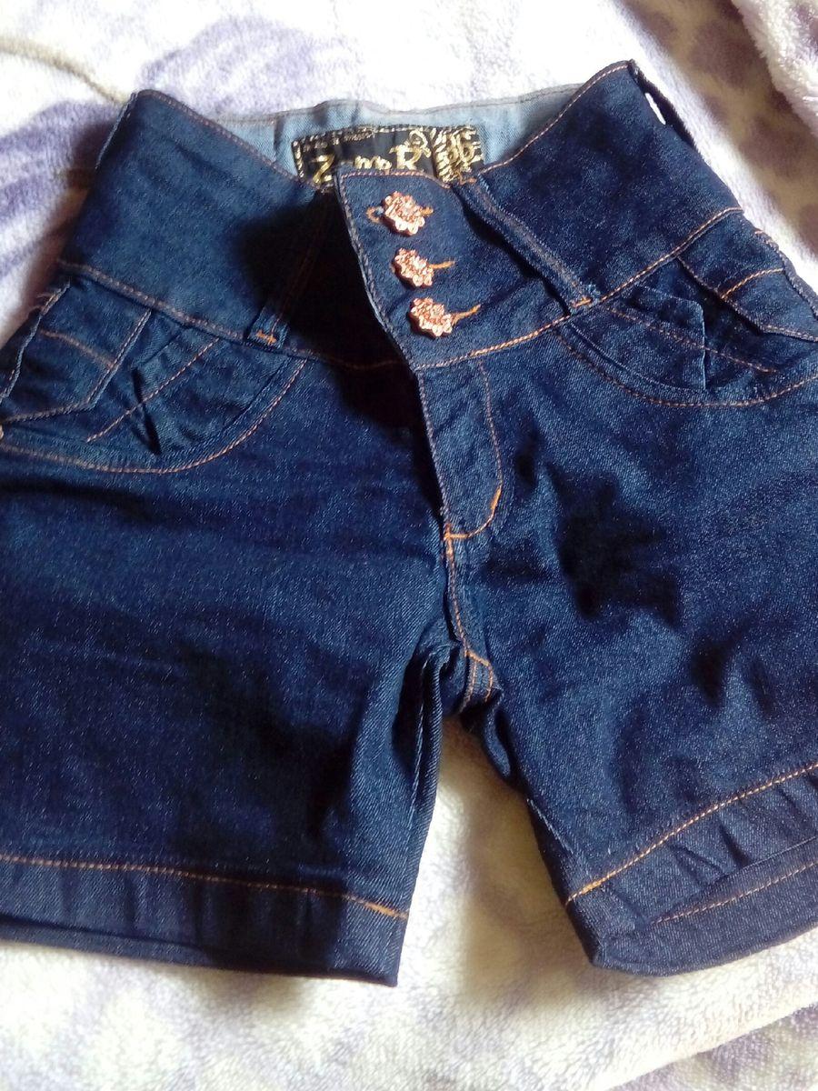 bermuda cintura alta - short zamer