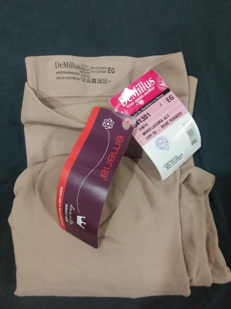 2fc06afa8 bermuda modeladora demillus ultraleve - lingerie demillus