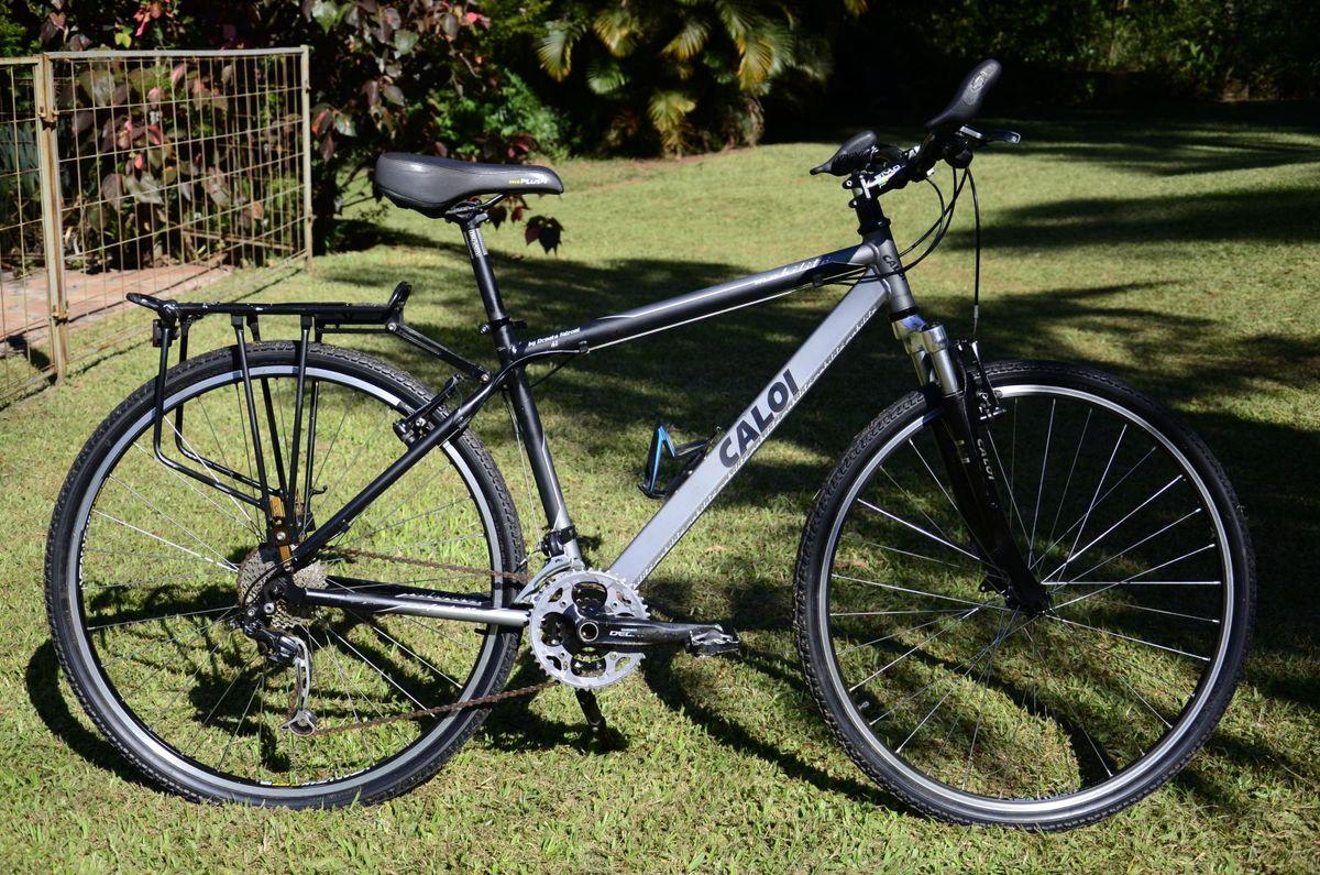 4a6aa05ae bicicleta caloi cicloturismo/aro 700/deore - série limitada - esportes e  outdoor caloi