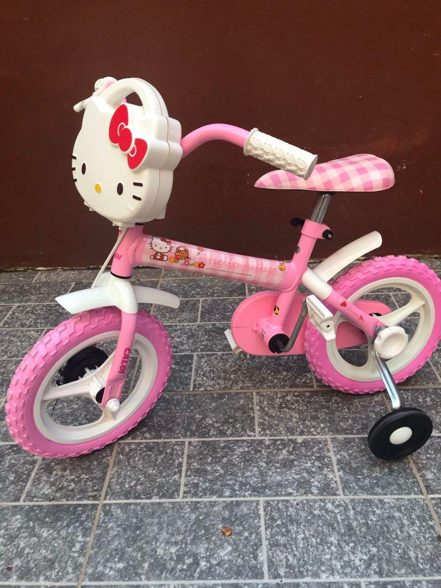 d4094396e bicicleta caloi hello kitty aro 12 rosa - outros caloi