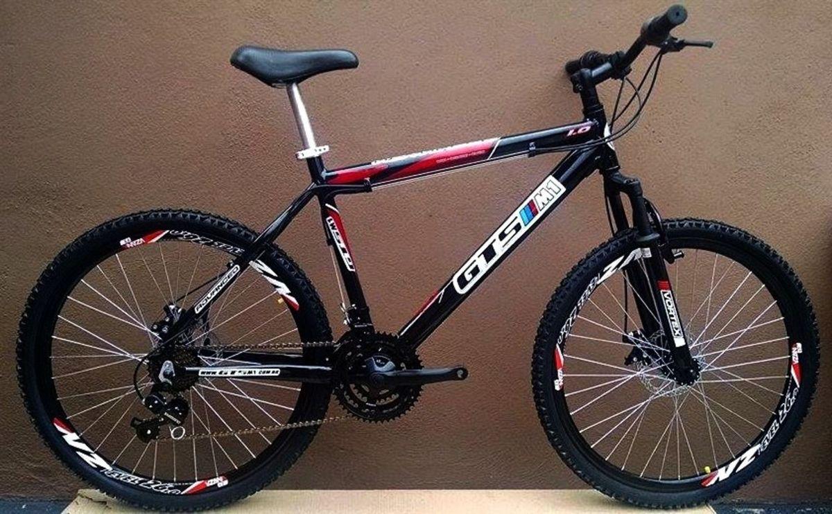 Bicicleta Gts M1 Advanced 1.0 - 21vel. - Freio a Disco - Rapid Fire ... 1900e7ab3e7