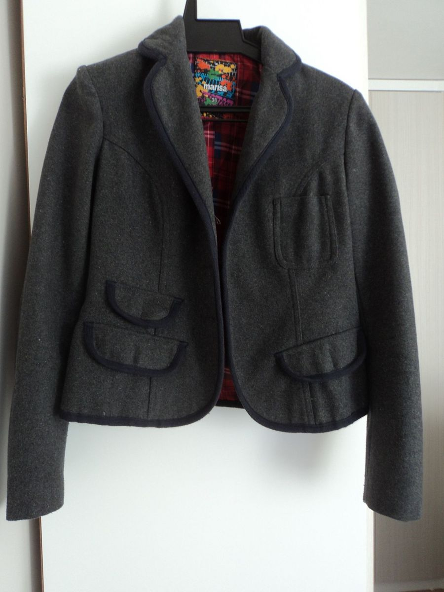 e195a3d555 blazer cinza de lã - ternos marisa.  Czm6ly9wag90b3muzw5qb2vplmnvbs5ici9wcm9kdwn0cy82nza2mtg3lzgzyzg5m2finwmyn2i4mmywogexodlmzgqwm2nkotbhlmpwzw  ...