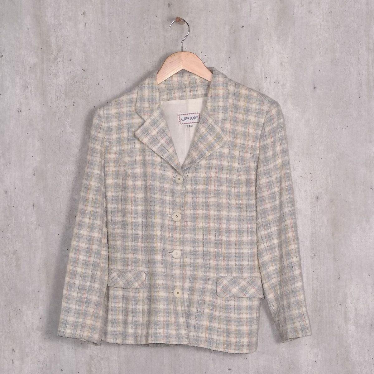 cdfa741d95 Blazer de Tweed Gregory   Casaco Feminino Gregory Usado 33325570   enjoei