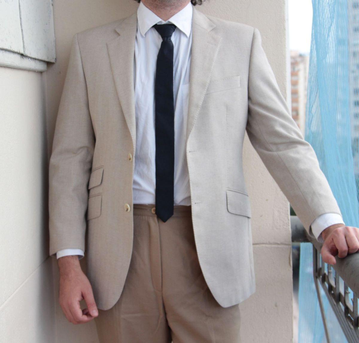 blazer de verão scabal - blazer scabal