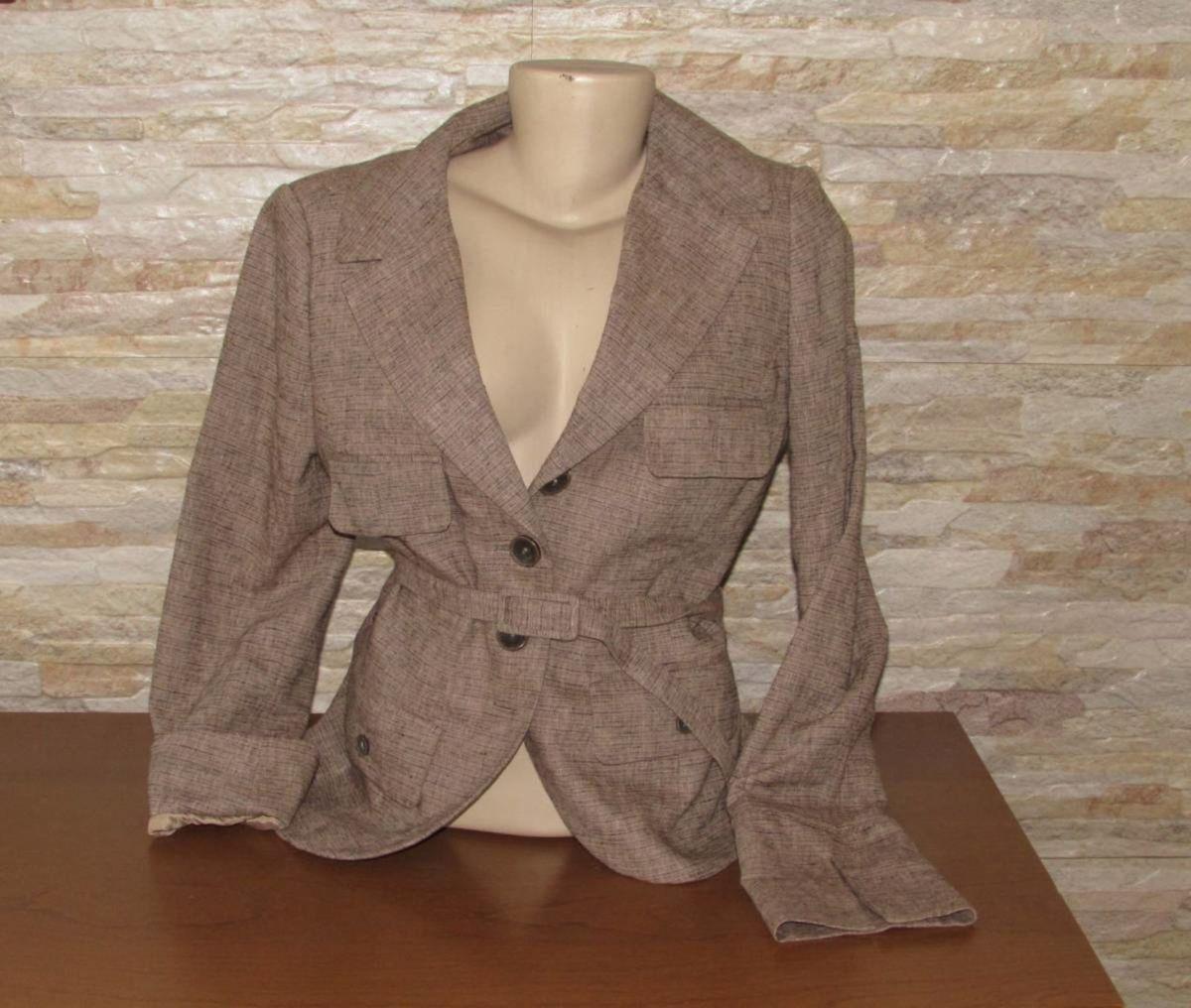 5c17d28370 blazer feminino linho h amp m original casaco frio m - casaquinhos ...