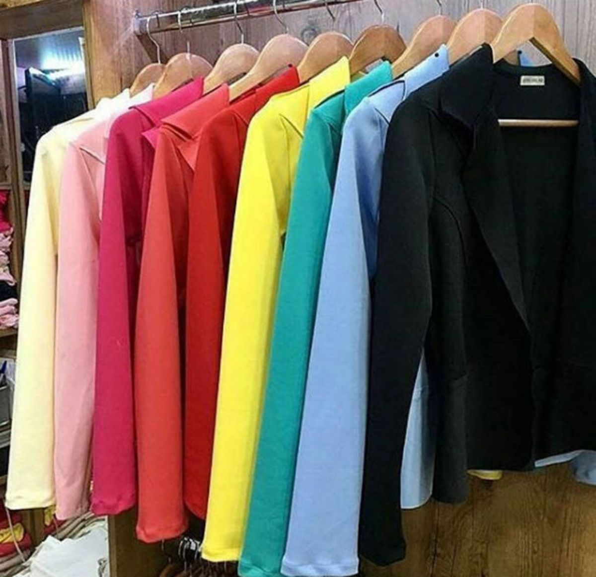 21caae8f90 blazer feminino varias cores e tamanhos neopreme - casaquinhos sem-marca