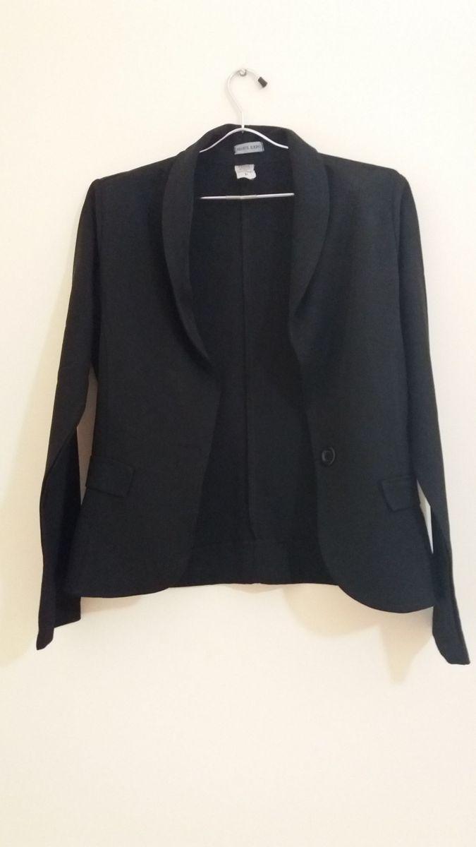 blazer preto - casaquinhos seoul-expo