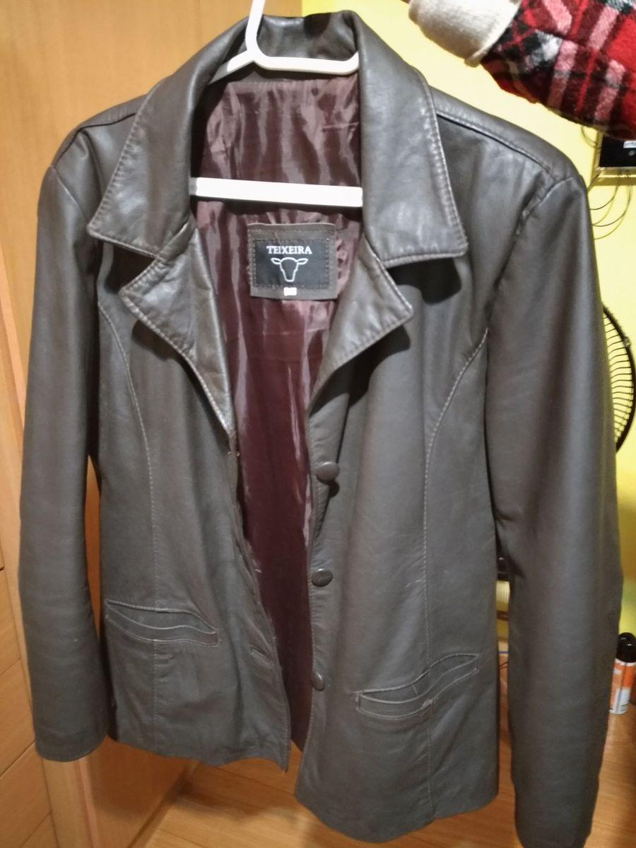 d1e7a2ce2 blazer tamanho p - blazer teixeira-moda-couro.  Czm6ly9wag90b3muzw5qb2vplmnvbs5ici9wcm9kdwn0cy81mzgxmju5lzkxmji4njmzntc5mwrkztnlmtljntbhntjhmwnmy2i2lmpwzw
