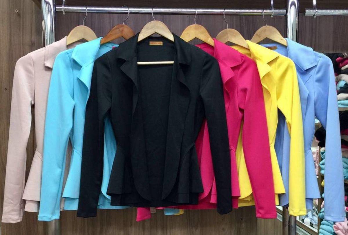 73c2e2013b blazer feminino várias cores - casaquinhos sem-marca