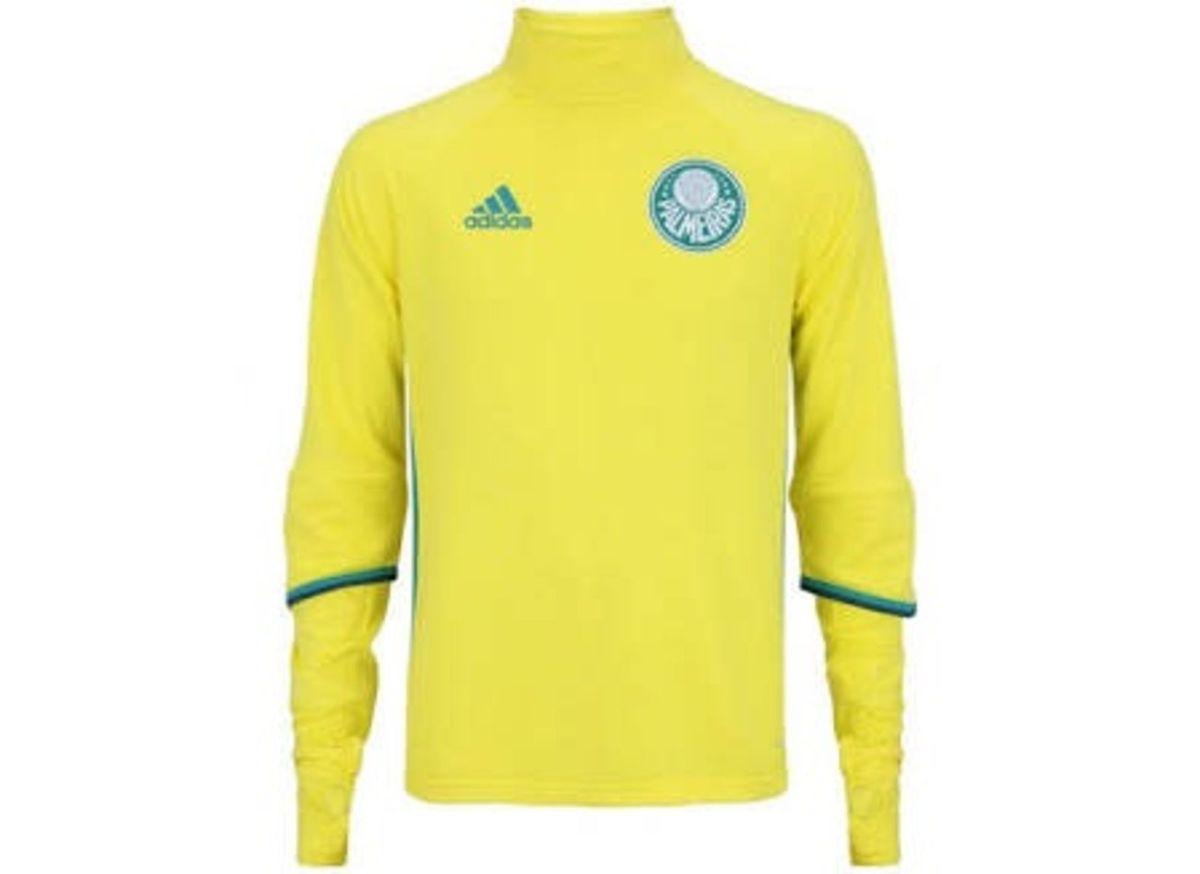 42818c4c9d blusa amarela palmeiras -  oficial  - blusas adidas