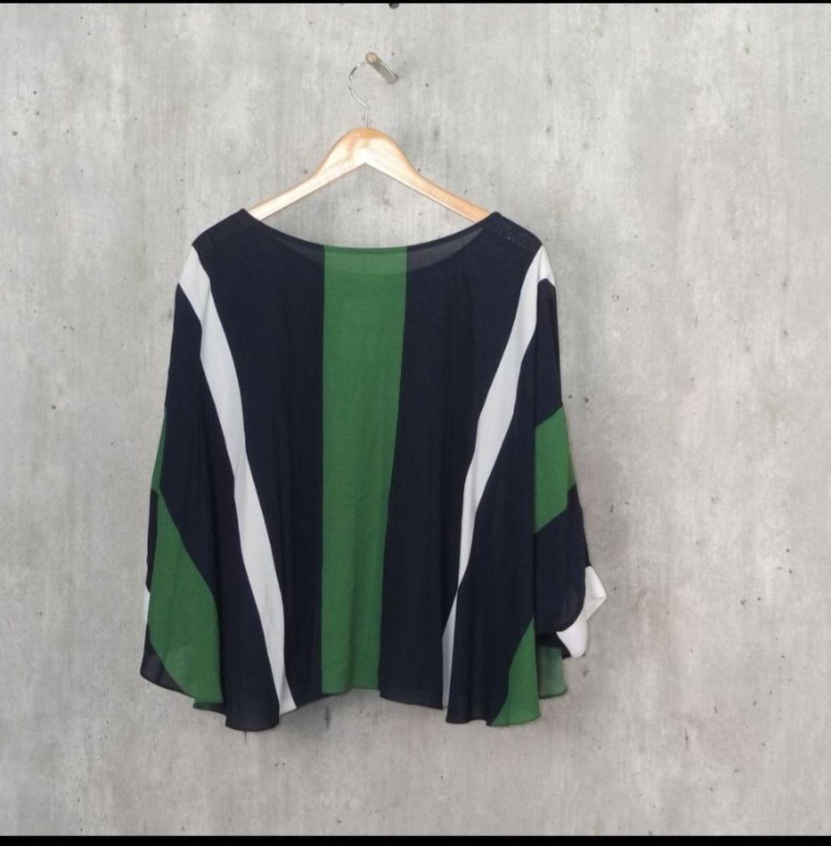 blusa ampla estilo poncho - blusas sem marca