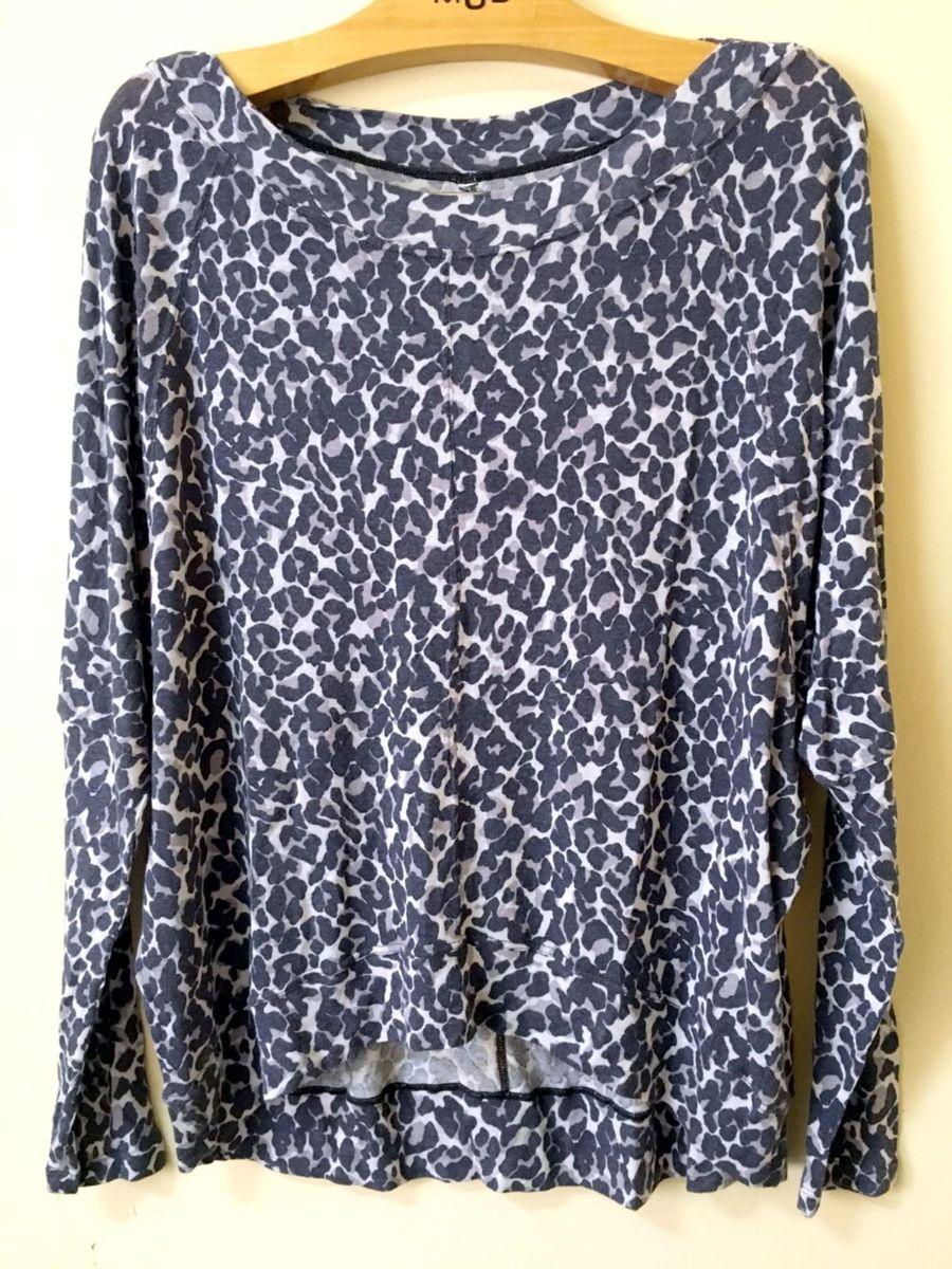 blusa animal print - blusas sem marca