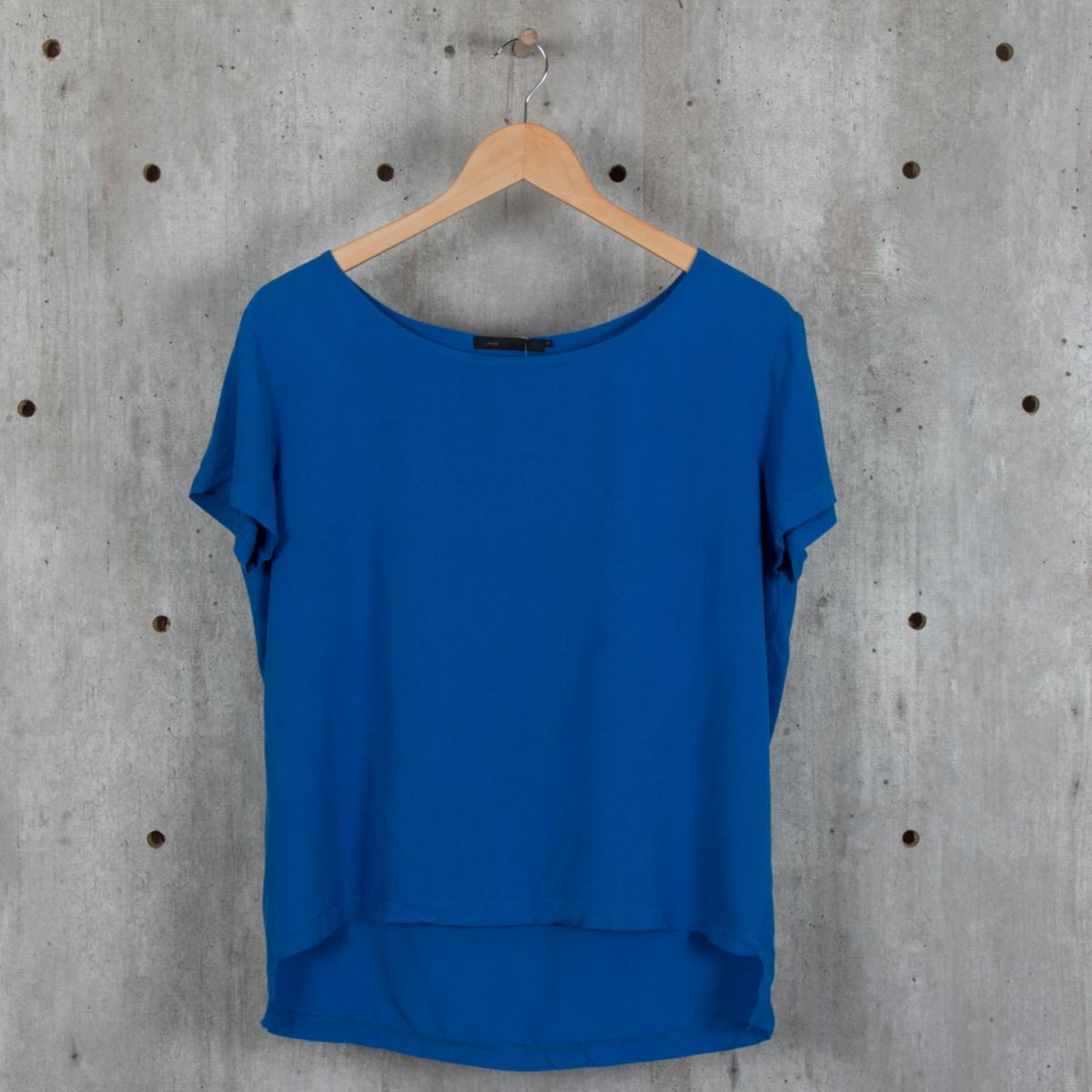 blusa azul - blusas mob