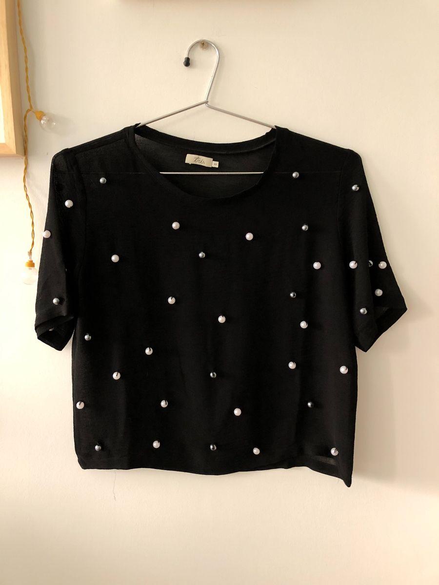 blusa com pérolas - blusas loja 3