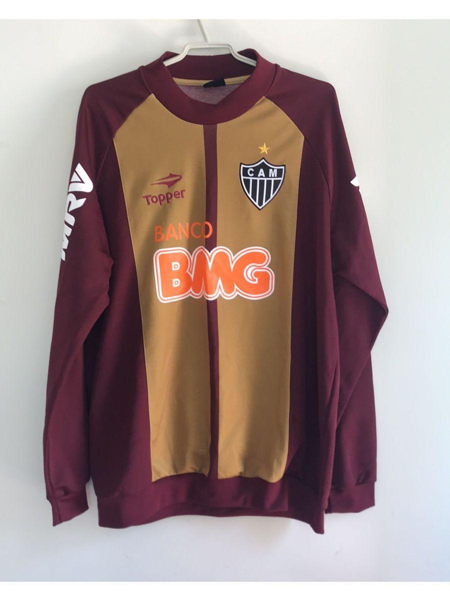 bea61922ff blusa de frio goleiro atletico mineiro - camisas topper