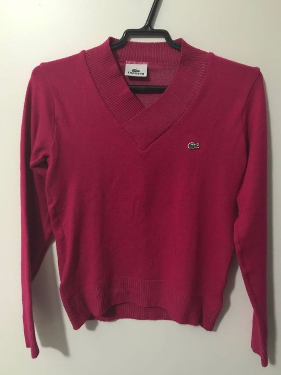 2366f148cce5f blusa de lã original lacoste - blusas lacoste.  Czm6ly9wag90b3muzw5qb2vplmnvbs5ici9wcm9kdwn0cy82mdm3mdc1lznin2eynti4nwjmmgy5owfinjg0mmrlowq2zgexztgzlmpwzw  ...