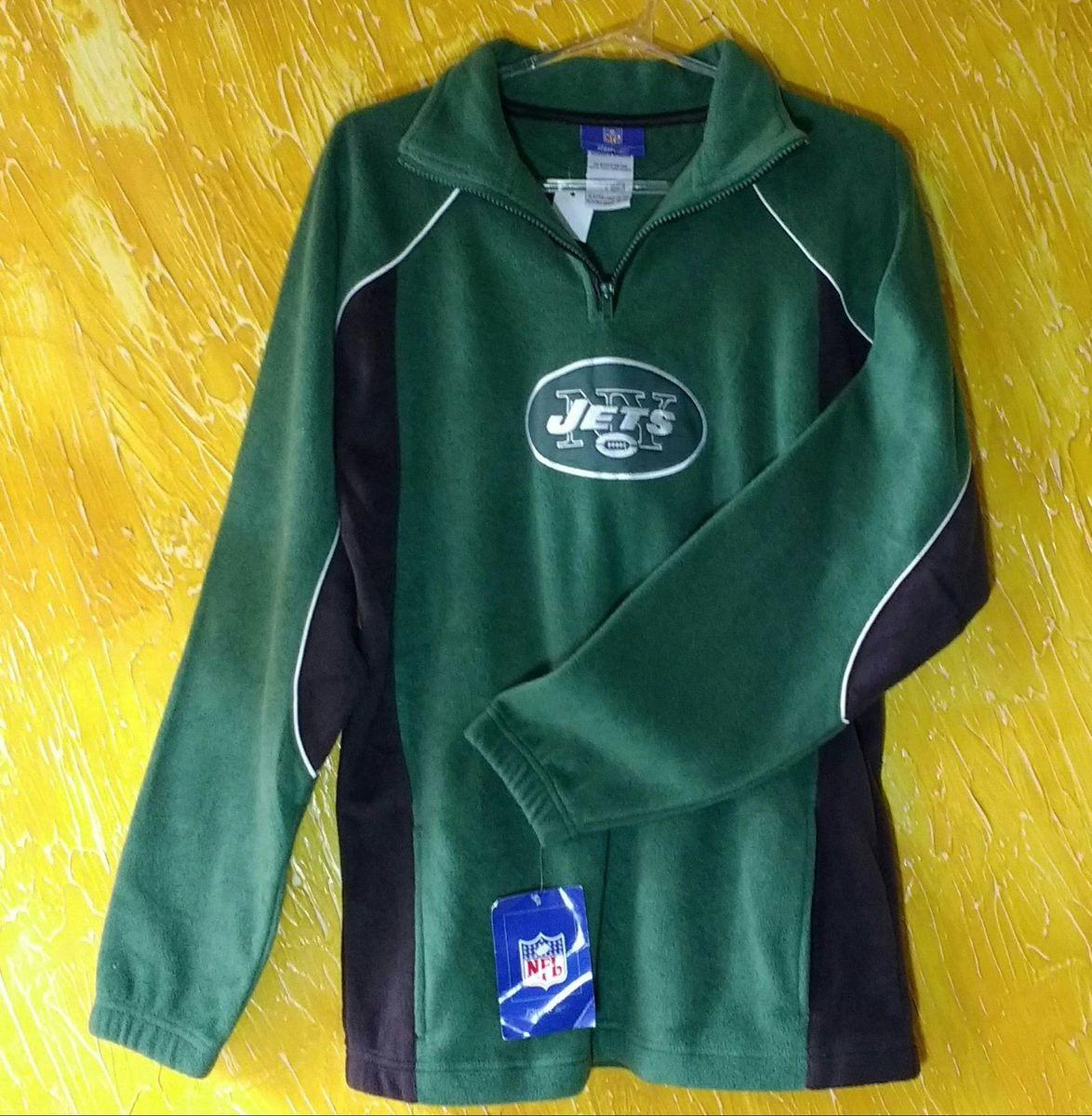 42e7ed47df blusa de moletom nfl ny jets original 14  16 - casacos reebok