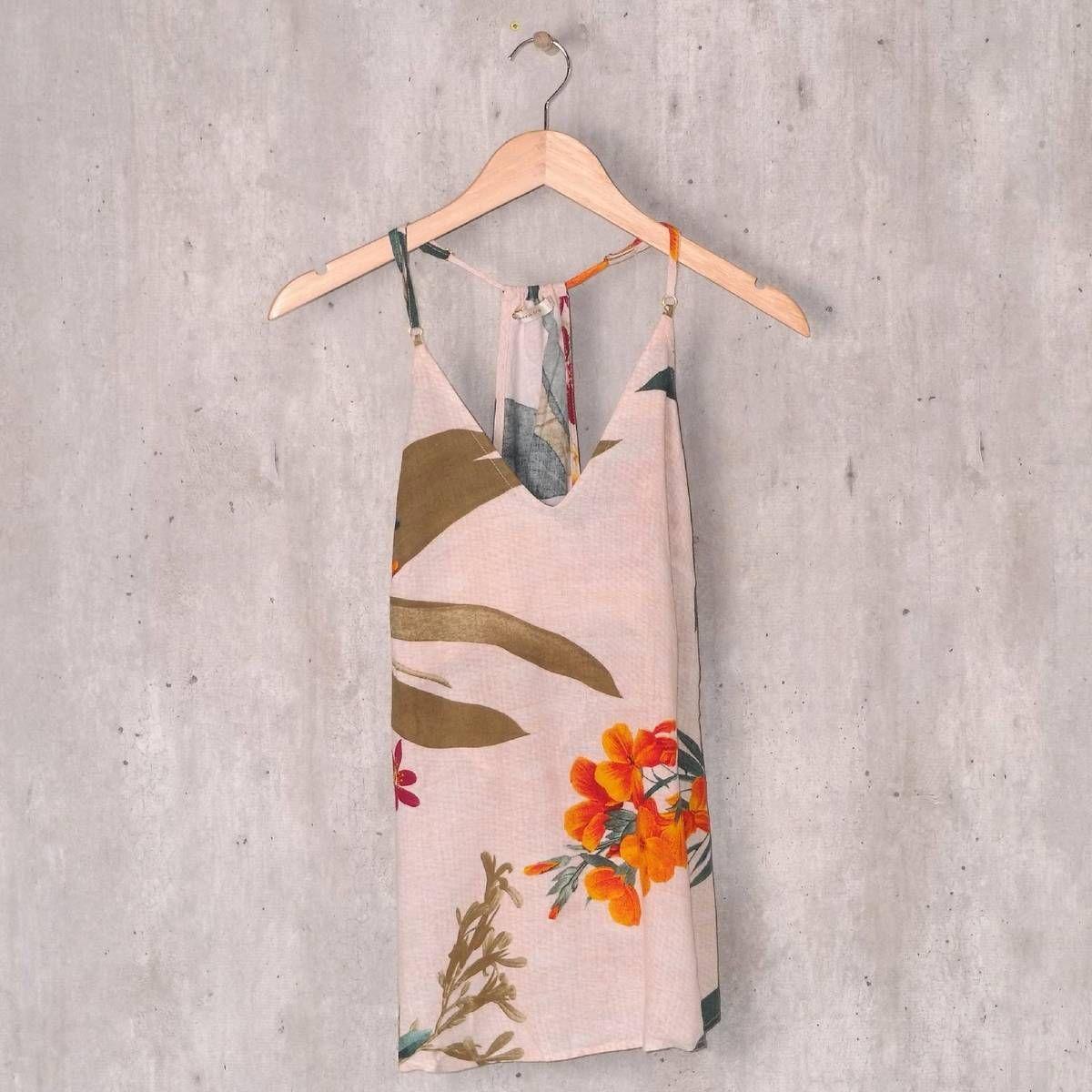 blusa floral maria filó - blusas maria filó