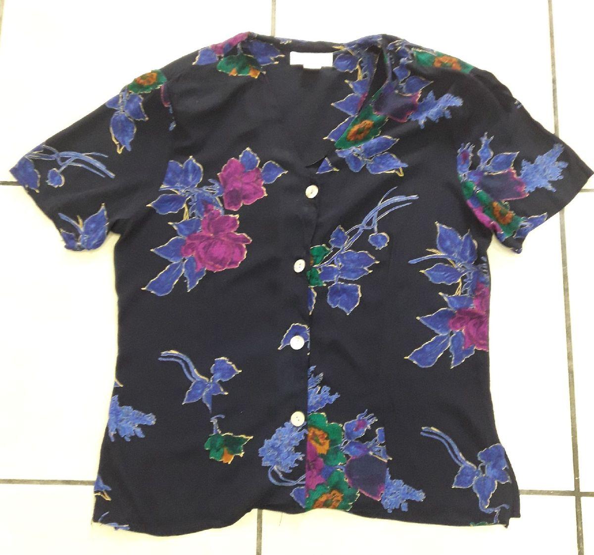 blusa florida importada (be) - blusas annex