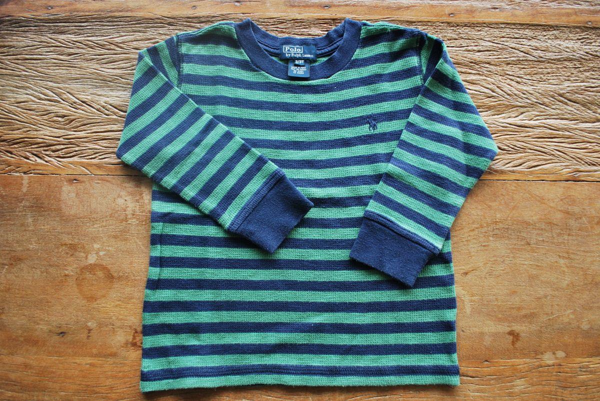 blusa listrada da polo ralph lauren - menino polo ralph lauren c2f9420ba79