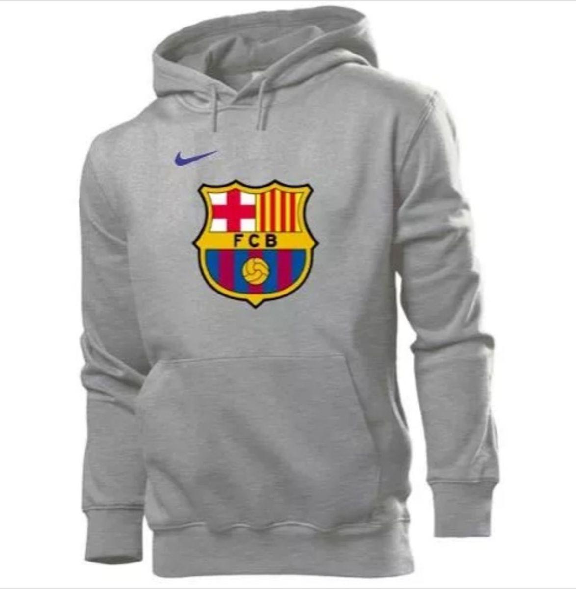 blusa moletom barcelona - tamanho m - casacos barcelona 5b43715ac1531