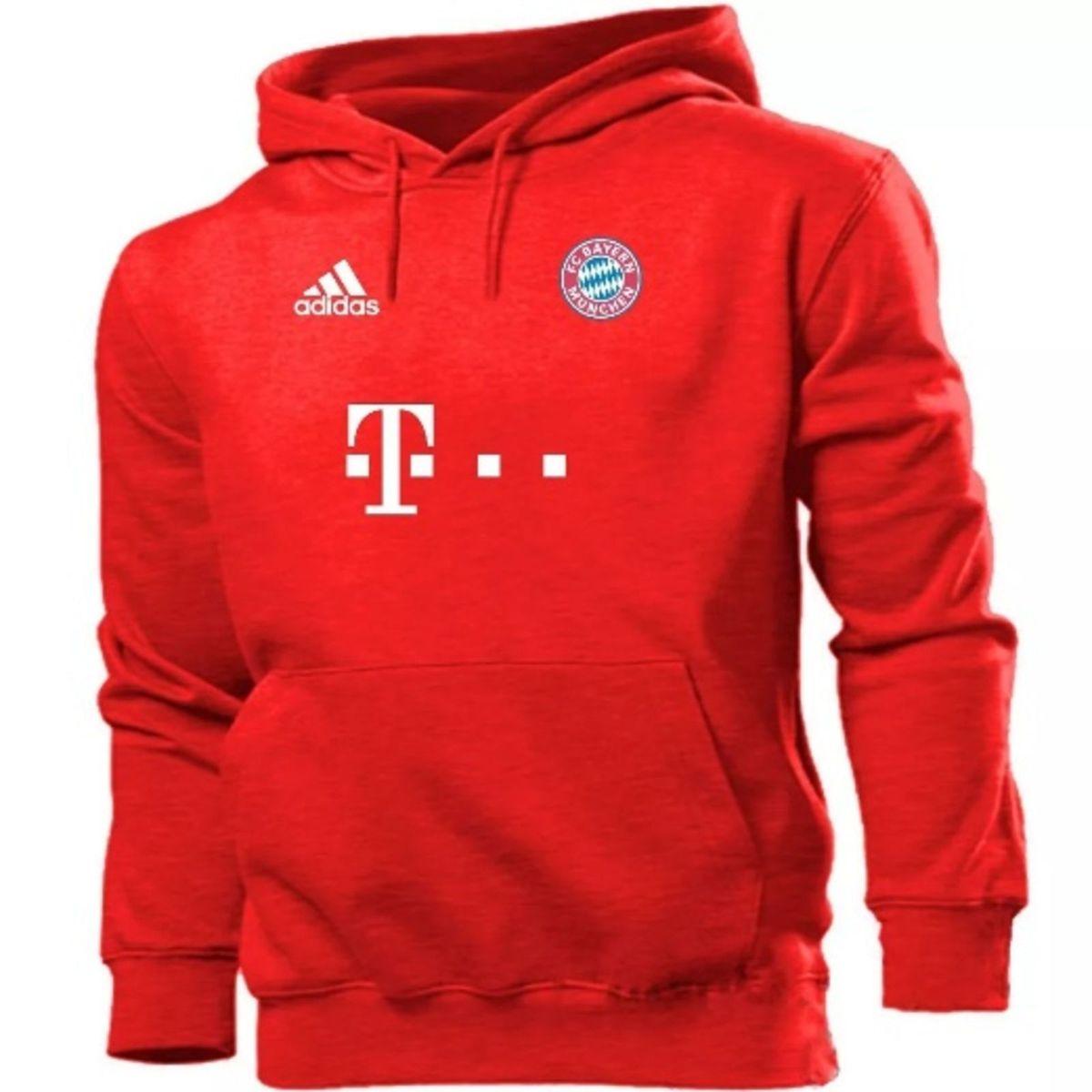 2c8974c7f8 Blusa Moletom Bayern de Munique Futebol - Casaco de Frio | Casaco Masculino  Adidas Nunca Usado 22196075 | enjoei