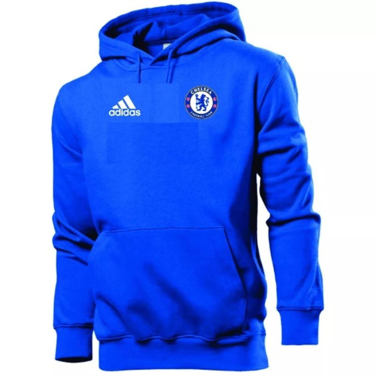 d3307b9832 blusa moletom chelsea futebol - casaco de frio - casacos adidas